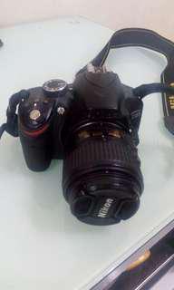 Nikon D3200. 18-55mm lense