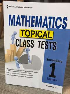 🚚 Mathematics Topical Class Tests (Sec 1)