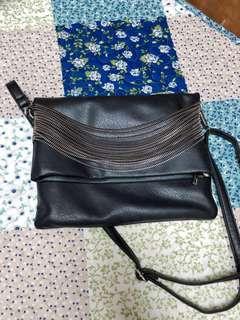 🚚 黑色側背包包