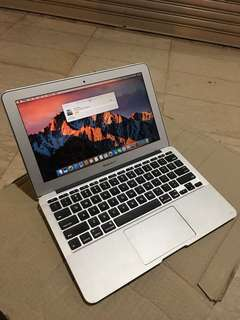 Macbook air 4,1 (11-inch,mid 2011)