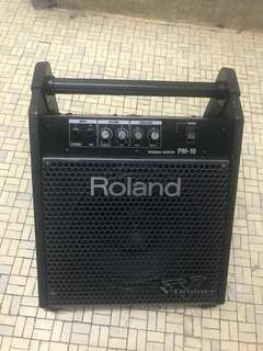 New net roland pm 10 drum amplifier