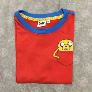 JAKE (ADVENTURE TIME) Red Shirt