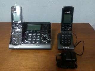 低至6折!偉易達 家居無線電話 子母機 全新未開封!