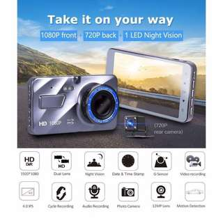⭐️ Promo ⭐️ High Quality Dual Lens Car camera WDR A10