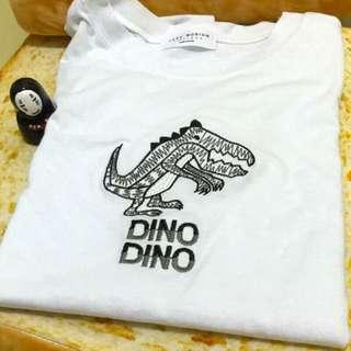 小恐龍短T