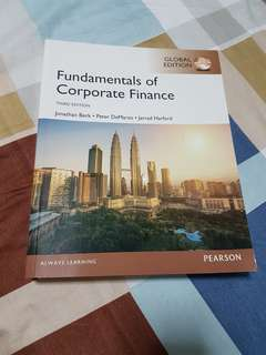 Fundamentals of Corporate Finance (Third edition)