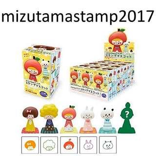 Mizutama stamp 田邊香純 限定玩偶印章