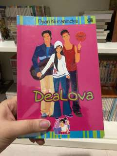 "Novel teenlit ""Dealova"""