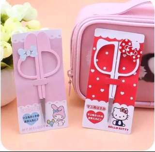 Hello Kitty My Melody Stainless Steel Eyebrow Trimmer