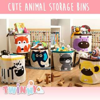 Clearance Sale! 3 for $20 Storage Bin, Many usage! Kids Toys, Clothes ETC