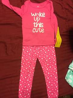 Brand new with tag sleepwear 12 months