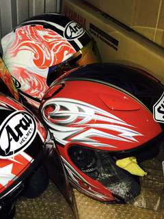 Shoei J Stream Polaris Red/White