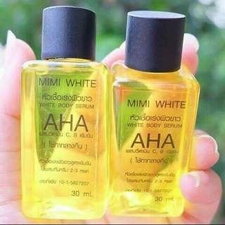 Mimiwhite Aha Whitening Body Serum