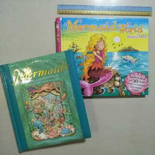 Mermaids 3D / Stencil books