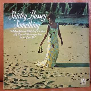 Shirley Bassey - Something Vinyl Record