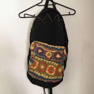 🚚 (已售出)降價500->360🇯🇵編織後背包