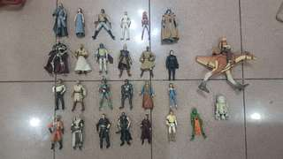 Star Wars Action Figures at 300 each
