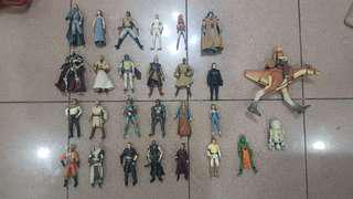 Star Wars Action Figures at 250 each