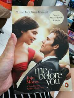 Inc pos new Me Before You by Jojo Moyes