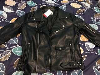 Leather Jacket Zara (Jaket Kulit)