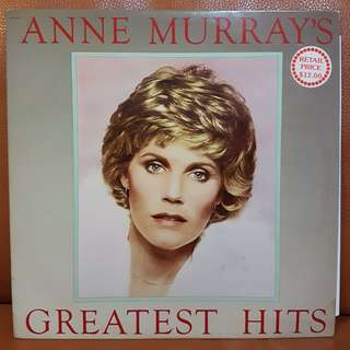 Reserved: Ann Murray's Greatest Hits Vinyl Record