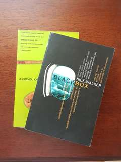Novel Blackbox by Nick Walker & Candy by Luke Davies (eng)
