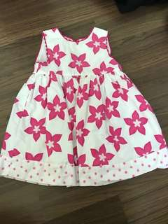 Pumpkin patch babygirl dress