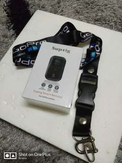 SupTig waterproof wifi remote control for GoPro