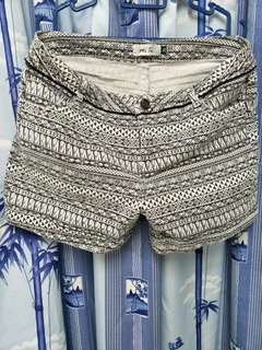 Black n White Shorts (3XL)