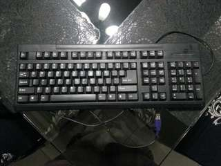 Keyboard with numberpad