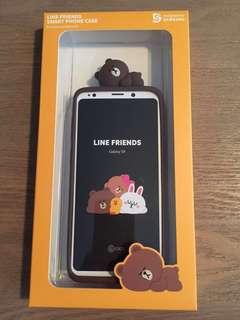 Samsung Galaxy S9 Line Friends 手機殼 Case