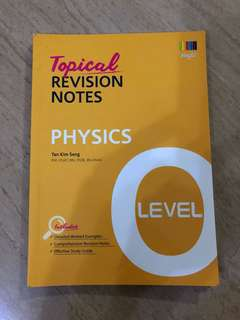 PHYSICS-O levels Topical Revision Notes
