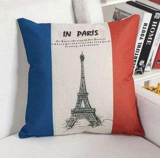 Sarung bantal Flag Series PARIS