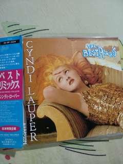 Pop CD - Rare Japan Press Cyndi Lauper The Best Remixes