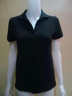 Black polo shirt(medium)