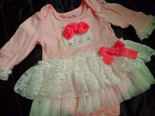 Onesies for baby girl with tutu for 6-9mos