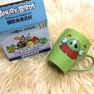🚚 Angry birds 憤怒鳥馬克杯 鬍子豬 藍鳥