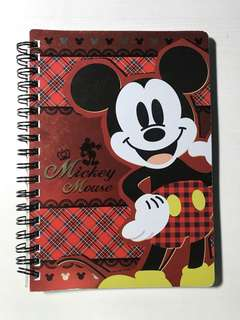 [75%NEW]Mickey Mouse Notebook 米奇老鼠筆記簿