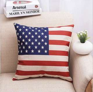 Sarung Bantal Flag Series USA