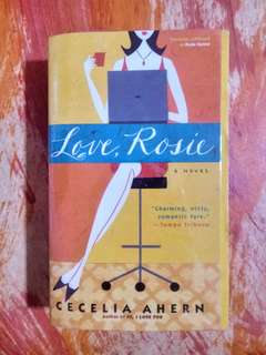 [PRE-LOVED] Love, Rosie by Cecelia Ahern