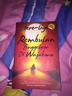 Novel Rembulan Tenggelam Di Wajahmu