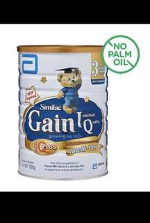 <FREE DOORSTEP DELIVERY> Brand New and Sealed Similac Gain IQ Stage 3 1.8kg (Singapore Stocks)