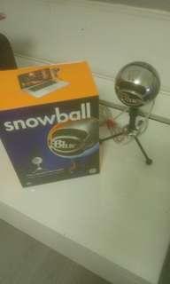 Blue Snowball - silver