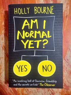 [PRE-LOVED] Am I Normal Yet? by Holly Bourne