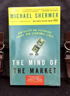 # Highly Recommended《Good Condition Preloved Paperback + Uncovering The Evolutionary Roots Of Our Economic Behavior》Michael Shermer - THE MIND OF THE MARKET : How Biology and Psychology Shape Our Economic Lives