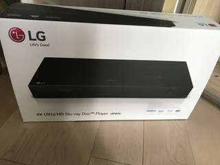 LG 4K Ultra HD Blue-ray Disc Player