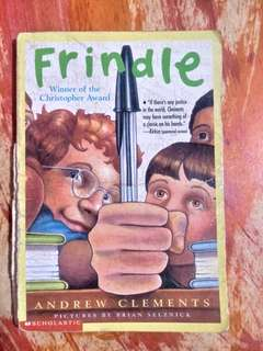 [PRE-LOVED] Frindle by Andrew Clements