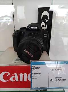 Camera DSLR Canon eos 1300d