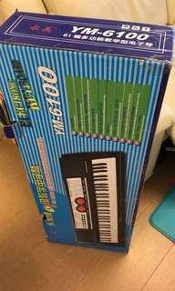 9成新永美電子琴 原價380 現售200