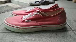 Vans Authentic Classic Red size 7